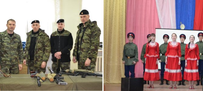 В Волгограде, на базе ГАПОУ «ВТЖТиК», прошел конкурс «Солдат-2017»