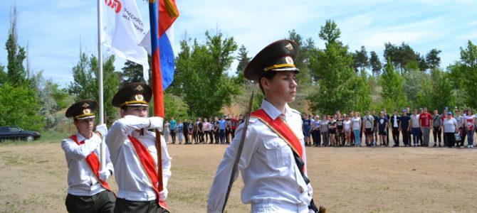 Студенты ГАПОУ ВТЖТиК приняли участие в военно-патриотической игре.