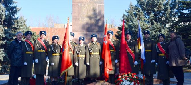 75-я годовщина контрнаступления советских  войск под Сталинградом