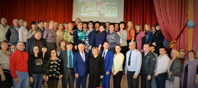 В ГАПОУ «ВТЖТиК» на торжественном собрании подведены итоги деятельности Макарова Л.М.