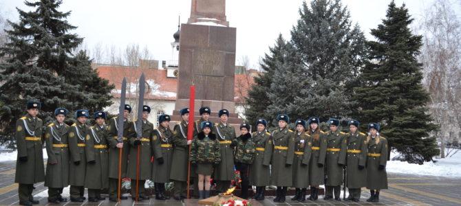 В ГАПОУ «ВТЖТиК» прошли торжественные мероприятия, посвященные празднованию 75-й годовщины разгрома советскими войсками немецко-фашистских войск в Сталинградской битве