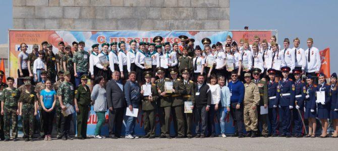 Команда студентов ГАПОУ «ВТЖТиК» приняла участие в конкурсе-смотре «Шаги Победы»