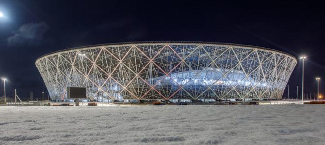 150 студентов ГАПОУ «ВТЖТиК» приняли участие в генеральной репетиции загрузки футбольного стадиона «Волгоград — Арена»