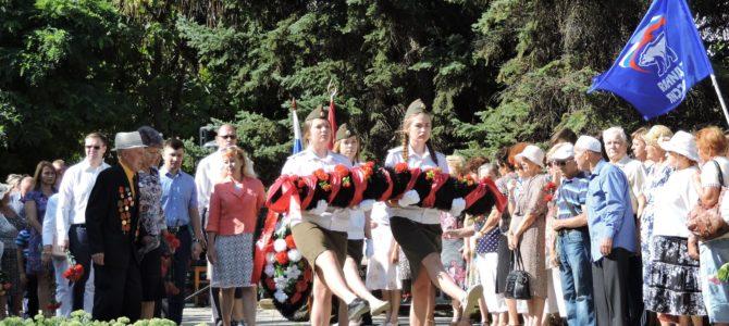 Ничто не забыто! Работники ГАПОУ «ВТЖТиК» приняли участие в памятном митинге, посвященном 76-й годовщине начала массовой бомбардировки Сталинграда 1942 г.