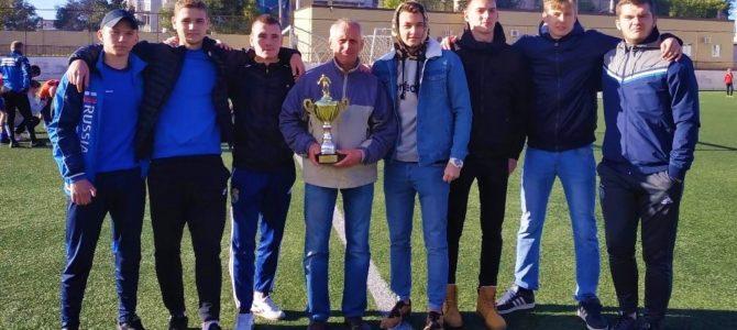 Поздравляем команду- победителя в турнире по мини-футболу!