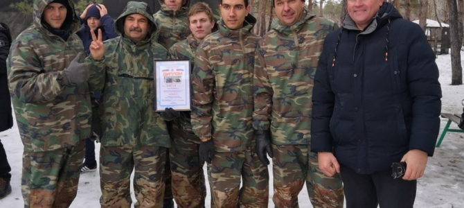 Команда ГАПОУ ВТЖТиК стала победителем отборочных игр по пейнтболу Волгоградского Теркома Роспрофжел