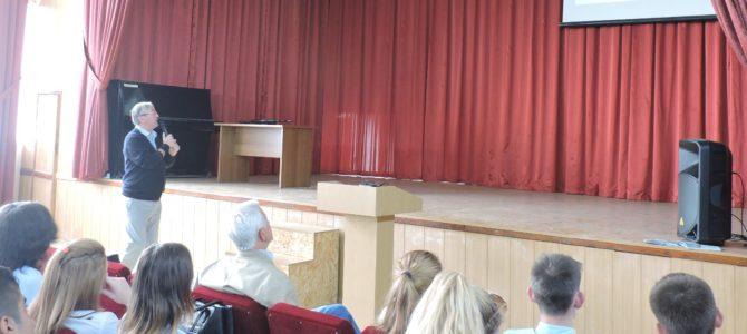 Представители ЦПВ «Гвардеец» рассказали первокурсникам о военно-патриотических и молодёжных объединениях центра