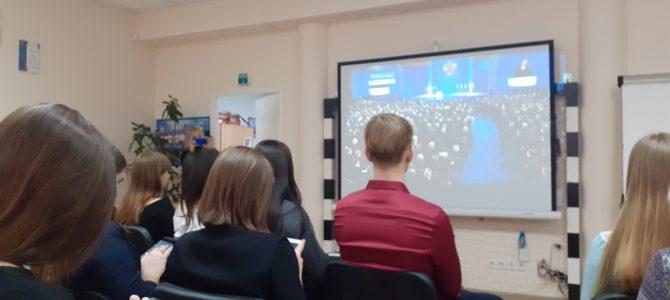 Студенты ГАПОУ «ВТЖТиК» приняли участие в рабочей встрече добровольцев Волгограда.