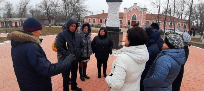 Работники ГАПОУ «ВТЖТиК» приняли участие в рабочей встрече Теркома РОСПРОФЖЕЛ по вопросу организации открытия стелы на площади у железнодорожной станции Сарепта.