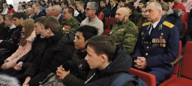 Студенты ГАПОУ «ВТЖТиК» встретились с ветеранами Афганской войны.