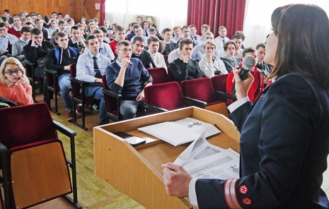 Сотрудники Волгоградского центра организации работы станций, встретились со студентами ГАПОУ «ВТЖТиК».